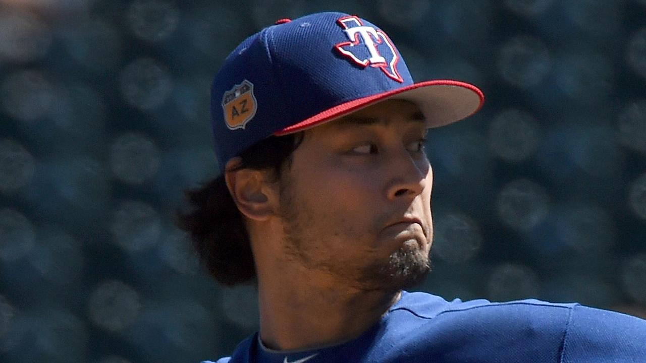 Darvish on track to get Opening Day nod